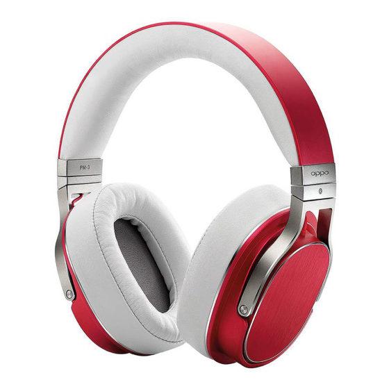 OPPO PM-3 czerwone - zdjęcie produktowe